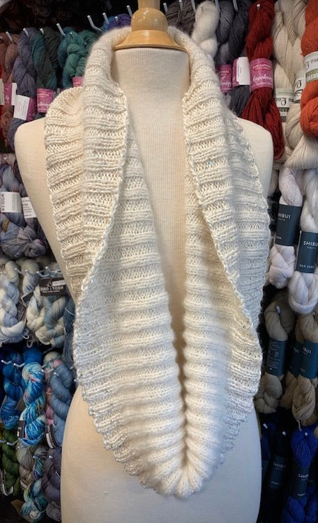 Artyarns Ensemble & Tanglewood Ribbed Cowl Kit