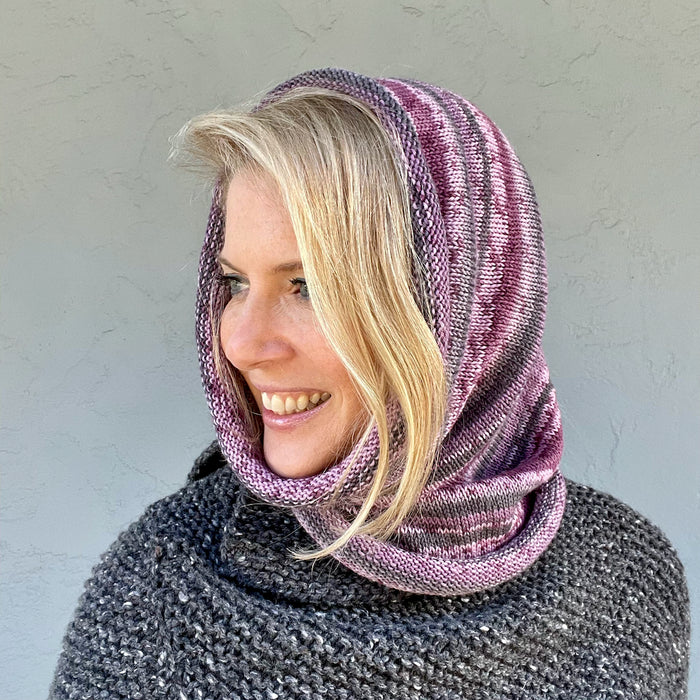 Heritage Print Cowl Knitting Kit | Cascade Heritage Prints & Knitting Pattern (#373)