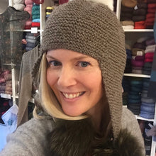 Load image into Gallery viewer, mYak Earflap Hat Knitting Kit | mYak Baby Yak Medium & Knitting Pattern (#305)