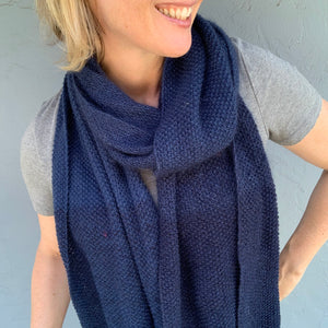 Shibui Multigrain Scarf Knitting Kit | Shibui Pebble, Silk Cloud, Cima & Knitting Pattern