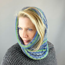 Load image into Gallery viewer, Heritage Print Cowl Knitting Kit | Cascade Heritage Prints & Knitting Pattern (#373)