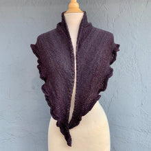 Load image into Gallery viewer, Tanglewood Ruffled Shawlette Knitting Kit | Tanglewood Cashmere & Knitting Pattern (#269)