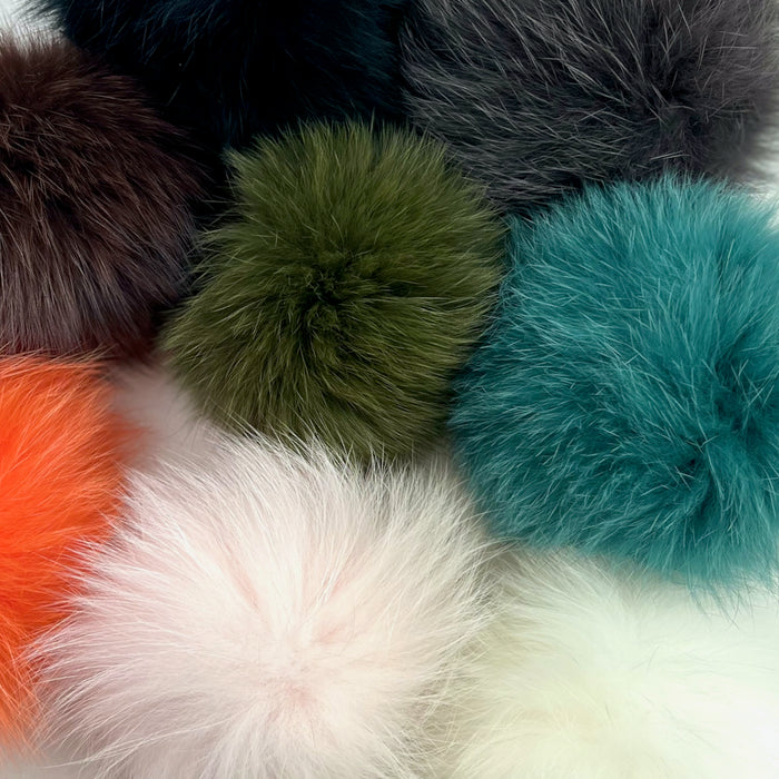 Fox Fur Pompoms