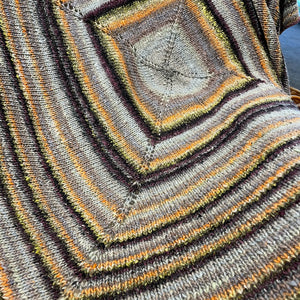 Easy Square Throw Knitting Kit | Noro Silk Garden & Knitting Pattern (#199)