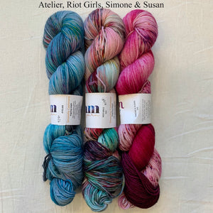 The Augusta Shawl Crochet Kit | Dream in Color Smooshy with Cashmere
