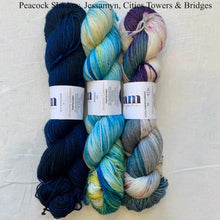 Load image into Gallery viewer, The Augusta Shawl Crochet Kit | Dream in Color Smooshy with Cashmere