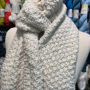 Little Boxes Scarf Knitting Kit | Araucania Lujoso & Knitting Pattern (#353)