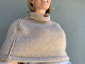 Egalité Poncho Knitting Kit | Stargazer & Knitting Pattern