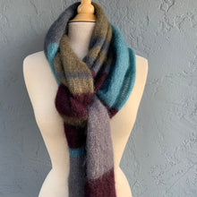 Load image into Gallery viewer, Kidsilk Haze Scarf Knitting Kit | Rowan Kidsilk Haze & Knitting Pattern (#158)