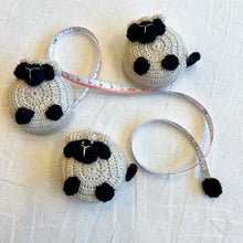Load image into Gallery viewer, Crocheted Sheep Measuring Tape