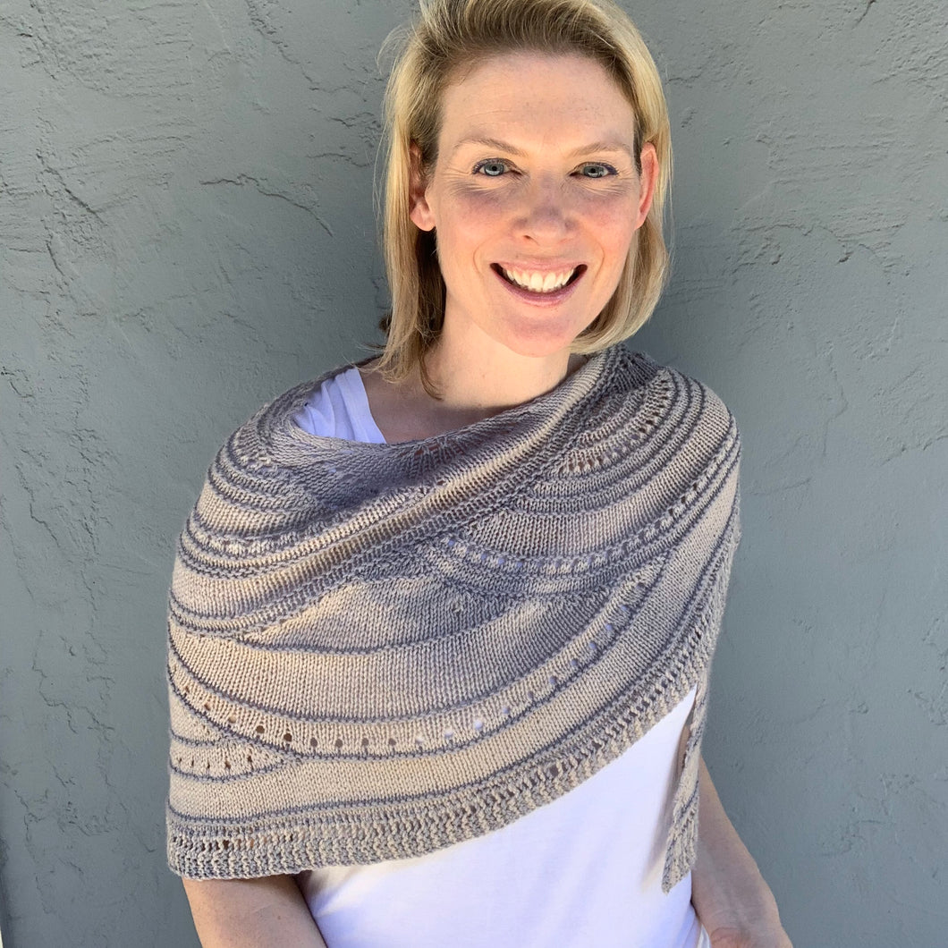 Artyarns Key of Life Shawl Knitting Kit | Artyarns Merino Cloud & Knitting Pattern