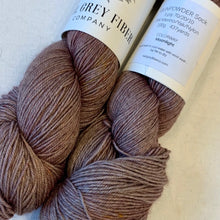 Load image into Gallery viewer, Siki Shawl Knitting Kit | Earl Grey Gunpowder Sock