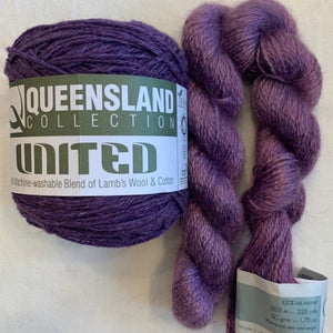 emPower People | Queensland United in Passion Flower & Colinton Lace in Amethyst