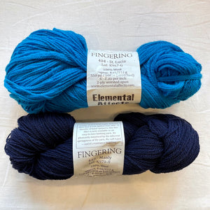 Sail-Away Shawl Knitting Kit | Elemental Affects Cormo