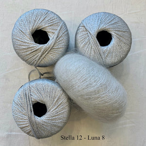 Stella & Luna Cowl Knitting Kit | Stacy Charles Stella, Luna & Knitting Pattern (#203)
