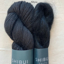 Load image into Gallery viewer, Shibui Spectrum Knitting Kit | Shibui Silk Cloud, Lunar & Knitting Pattern