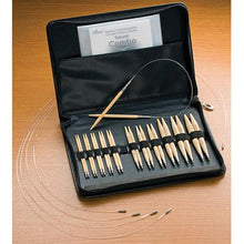 Load image into Gallery viewer, Clover Takumi Bamboo Interchangeable Circular Knitting Needle Set