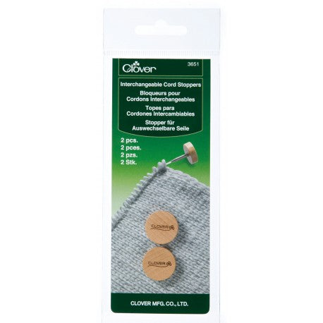 Clover Interchangeable Cord Stoppers