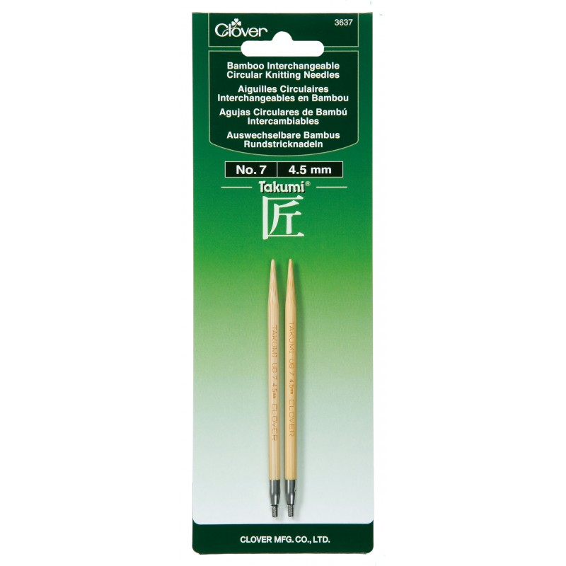 Clover Interchangeable Knitting Needles