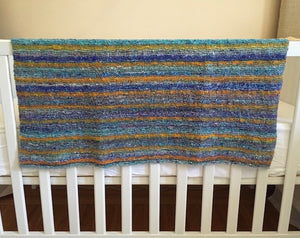 Noro Kibou Baby Blanket Knitting Kit | Noro Kibou & Knitting Pattern (#295)