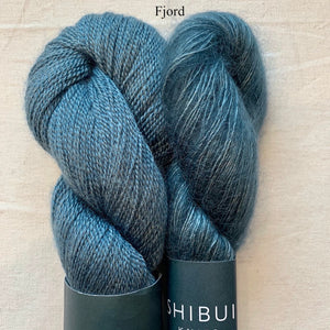 Shibui Spectrum Knitting Kit | Shibui Silk Cloud, Lunar & Knitting Pattern