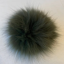 Load image into Gallery viewer, Fox Fur Pompoms