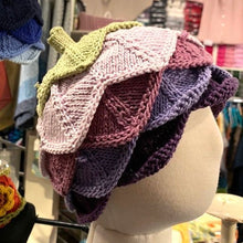 Load image into Gallery viewer, Knitwhits Flore Hat Knitting Kit | Knitwhits Cotton & Knitting Pattern
