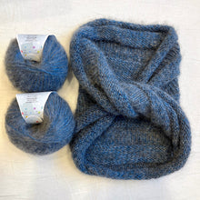 Load image into Gallery viewer, Peeeps Mobius Cowl Knitting Kit | Jade Sapphire Peeeps & Knitting Pattern (#372)