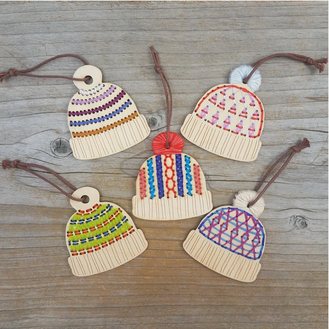 Katrinkles Stitchable Ornament Kits