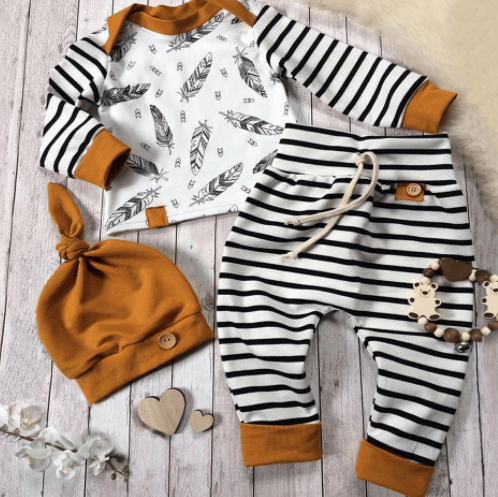 Feather 3 Piece Set