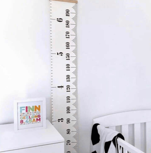 Measurement Height Chart