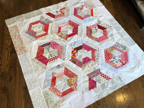Candy Hex Quilt