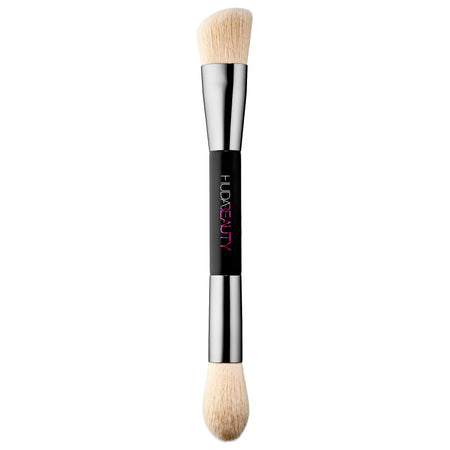 HUDA BEAUTYBake & Blend Dual-Ended Setting Complexion Brush