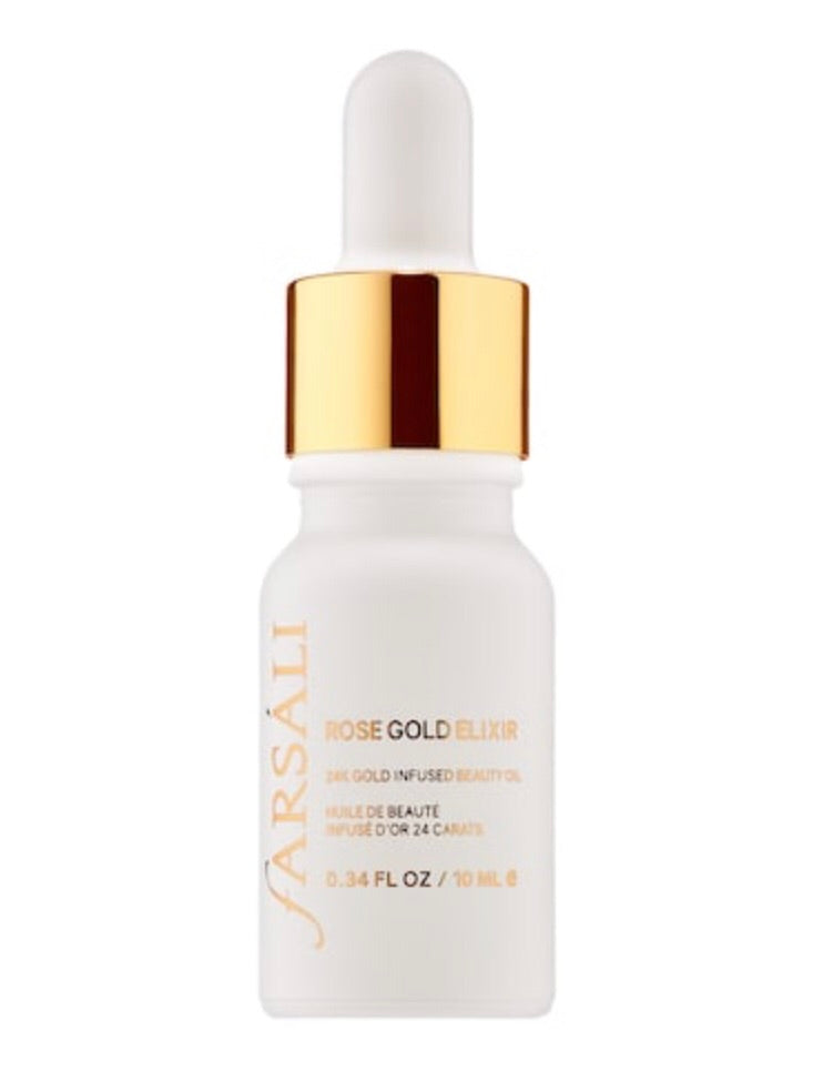 FARSÁLI Rose Gold Elixir – 24k Gold Infused Beauty Oil Mini