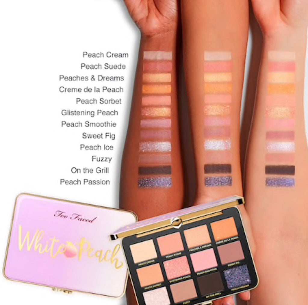 Too Faced-White Peach Eye Shadow Palette – Peaches and Cream Collection