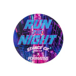 StanceCo x Formative Run The Night Sticker