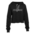 Select Cropped Hoodie (Black)