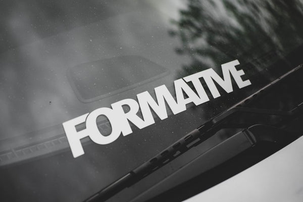 Formative Vinyl Decal