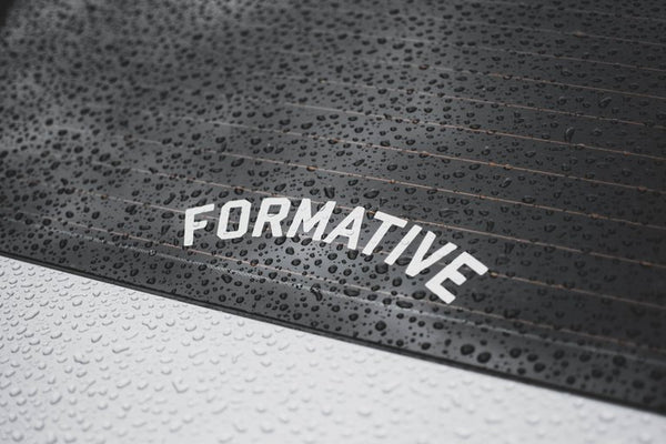 Formative Curved Vinyl Decal