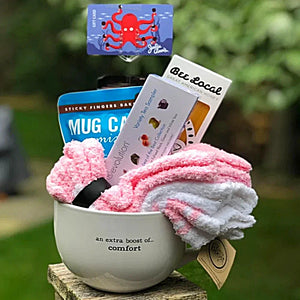 Gift Basket Mug {an extra boost of...comfort}