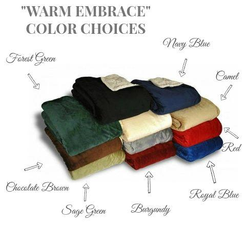 Warm Embrace Cozy Wrap {Customize Saying}