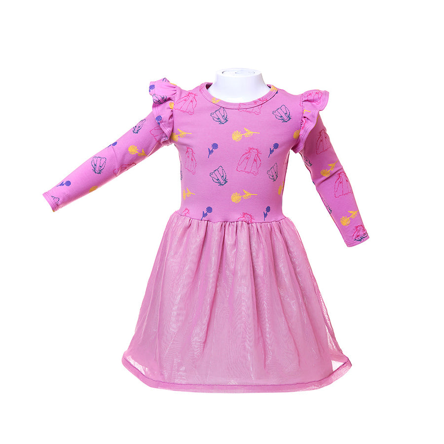 Badger and Clover Party Dress