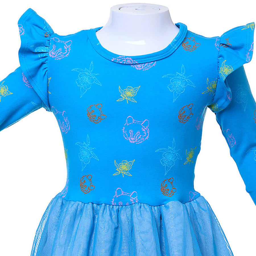 Bear and Primrose Party Dress