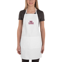 The Mom Gang Embroidered Apron