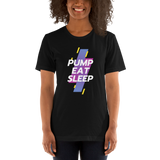 PUMP EAT SLEEP Mom Short-Sleeve  T-Shirt