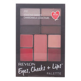 Étui de Maquillage Eyes Cheeks Lips Revlon - ELIXIR PARFUMS PARIS