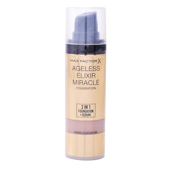 Fonds de teint liquides Ageless Elixir Miracle Max Factor - ELIXIR PARFUMS PARIS