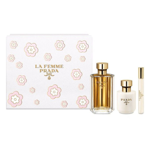 Coffret Parfums - La Femme Prada (3 pcs) - ELIXIR PARFUMS PARIS