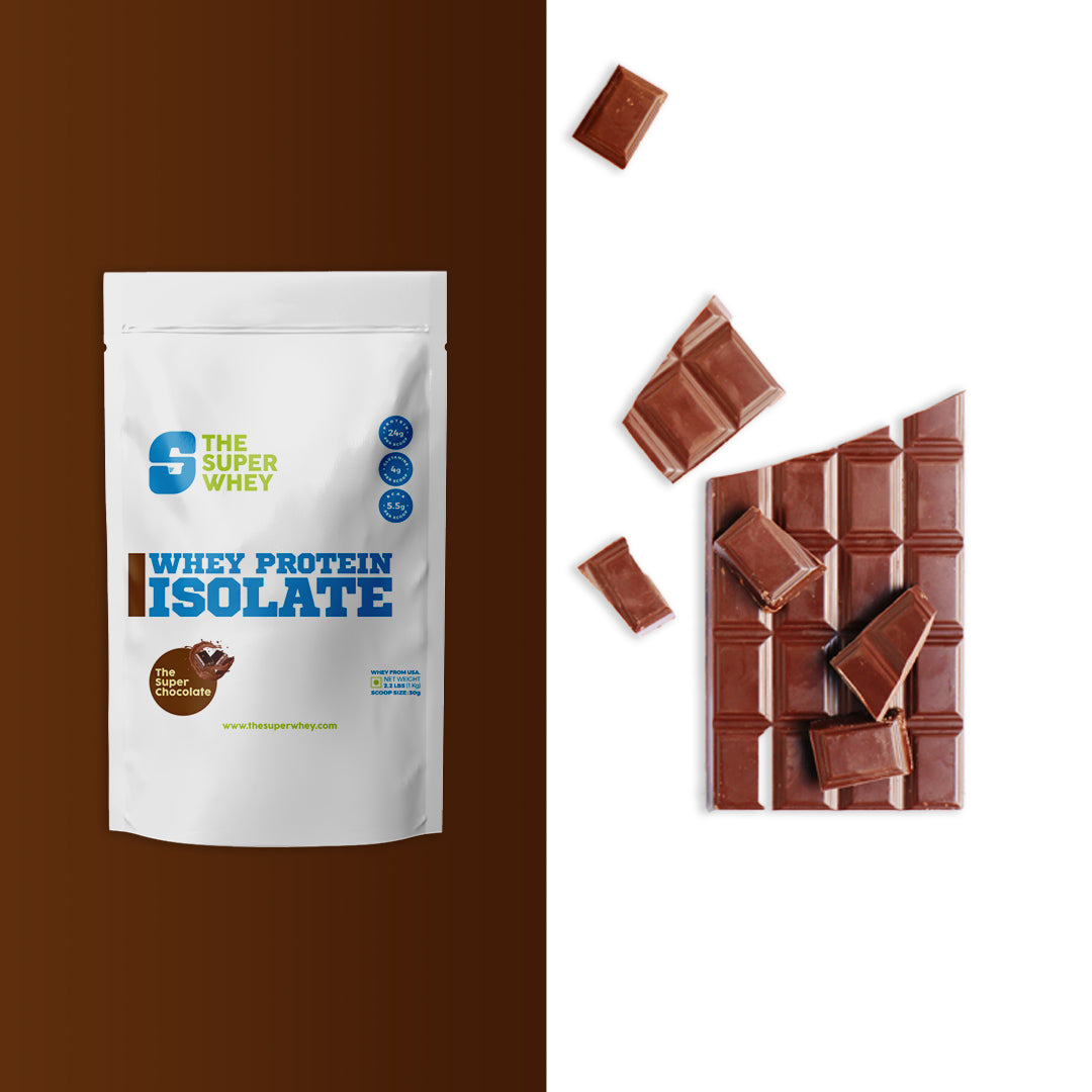 WHEY PROTEIN ISOLATE - The Super Chocolate