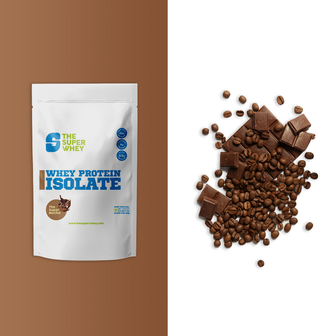 WHEY PROTEIN ISOLATE - The Super Mocha